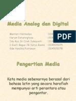 Media Analog Dan Digital