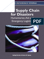 Relief Supply Chain for Disasters
