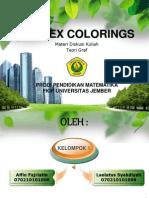 2.1 Vertex Colorings