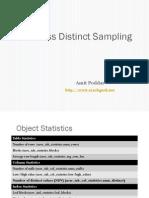 Oracle One Pass Distinct Sampling Presentation