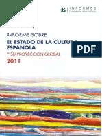 Informe Cultura ESpaña 2011