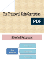 The Transoral Chin Correction