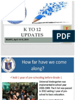 EDC K-12 Update