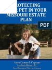 Protecting Your Pet In Your Missouri Estate Plan