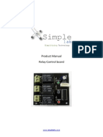 Simple Labs Relay Control Board