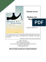 Nicholas Fearn, Denken Wie Diogenes