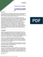 Reliance RPM AC Motors-Optimum Pole Configuration