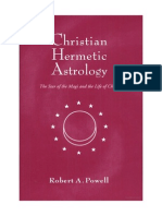 GOOGLE - Christian Hermetic Astrology the Star of the Magi and the Life of Christ - R Powell (OCR