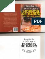 Medina Lino C - Recetario Criollo Para Hornos de Barro