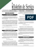 Boletim de serviço UFMS