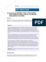 Faktor Virulensi P Hemolitica