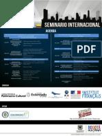 cronograma seminario patrimonio