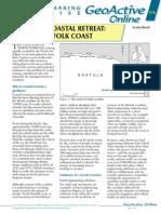 GA376 Managed Coastal Retreat North Norfolk Coast -- Apr 2007 Series 18 Issue 3