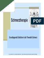 Schmerztherapie - Neurologisch und psychosomatisch