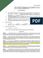 Contrato Arrendamiento Financiero