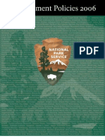 Management of National Park Service Programs
