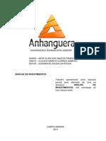 ATPS Analise de Investimento