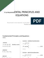 Prinsip dan Persamaan Dasar