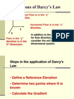 Lecture 16 Applications of Darcy's Law