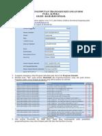 Tutorial Penginputan Transaksi Keuangan Bos Di Alpeka