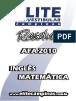 2010 AFA Matematica Ingles Elite