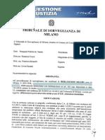 Ordinanza Berlusconi Servizi Sociali 2014