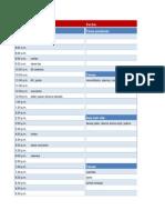 Calendario Diario