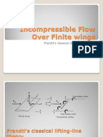 Incompressible Flow Over Finite Wings III