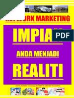 NETWORK MARKETING, IMPIAN ANDA MENJADI REALITI