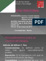 Seguridad Industrial - Elementos