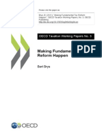 OECD Fundamental Tax Reform Theory