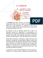 LA AMISTAD Danilo Diaz