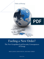 Fueling New World Order