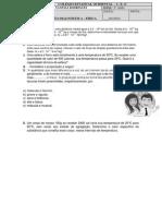 Avaliação diagnóstica - 2º e 3º anos