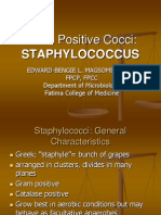Staphylococcus Lecture