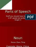 Ab Parts of Speech