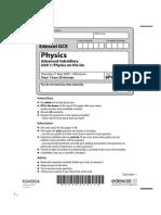 Physics  Unit -1 June 2009 Paper