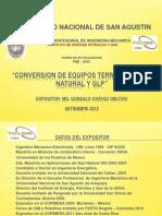 Conversion de Equipos Termicos a Gas Natural Pae-1