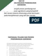 Bab 8 Strategi Dan Kebijakan Pembangunan Agribisnis