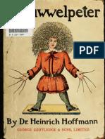 struwwelpeter by heinrich hoffmann in English