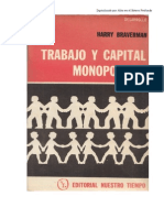 Braverman Trabajo y Capital Monopolista