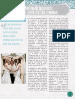 Matrimonio Igualitario en el País de las ironías.
