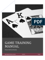 Poker Training Manual