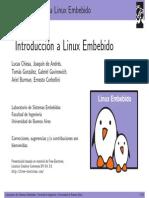 Introduccion Linux Embebido
