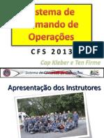 01 - SCO Para CFS 2013 - Aulas 01 e 02