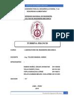 Informe Turbina Francis