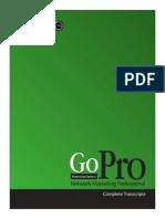 Go Pro (Ingles)