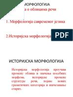Istorijska morfologija