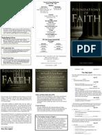 The Holy Spirit - Foundations of Faith (2 or 5)