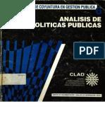 Analisis de Politicas Publicas Eduardo Angel